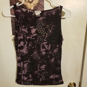 Purple Charlotte Russe Top Size Large